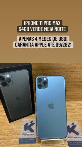 iPhone 11 Pro Max - Garantia Apple 09/2021 - Completo