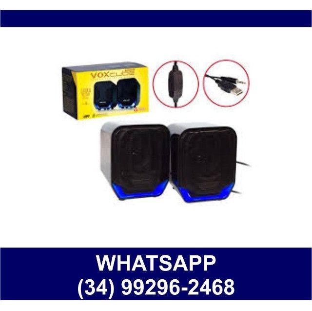 Caixa de Som para Computador VoxCube D360 * Fazemos Entregas