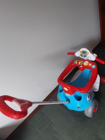 Motoca que virá triciculo tem efeito sonoro!!***** - Foto 3
