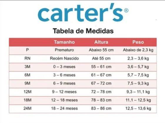 Conjunto 3 peças Verão Carters (Novo Original) 9 meses - Galinha - Foto 4