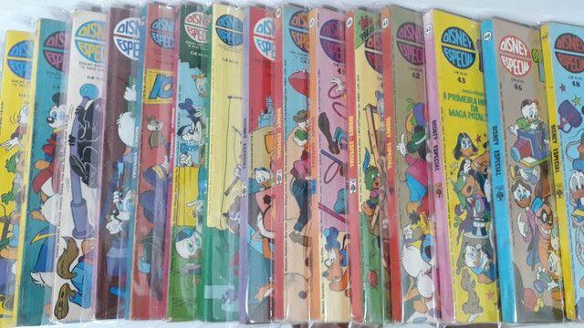 Gibis Disney especial coleção 25 revistas em quadrinhos Mickey pato Donald tio patinhas - Foto 3