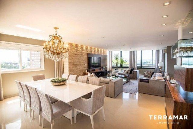 Apartamento com 3 dormitórios para alugar, 229 m² por R$ 10.000/mês - Centro - Novo Hambur - Foto 3