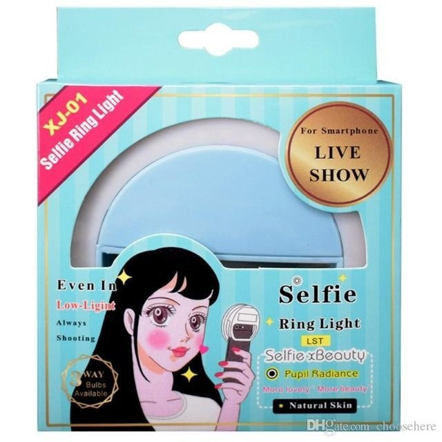 NOVO* Ring Light Luz de Selfie Universal - Foto 6