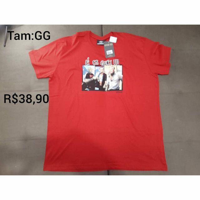 Camisetas Novas - Foto 2
