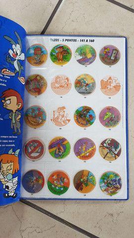Álbuns com tazos - Looney Tunes, Animaniacs e Tiny toons - Foto 6