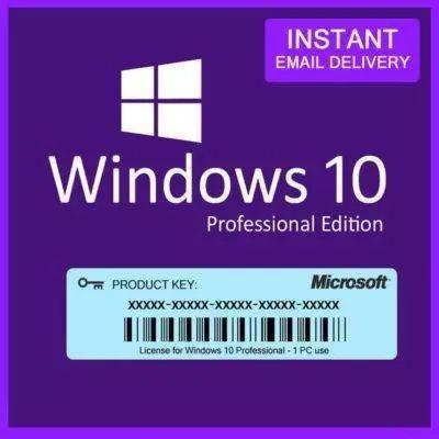 Windows 10 pro chave de licença original