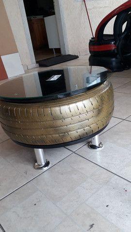 Artesanatos de pneus  - Foto 2