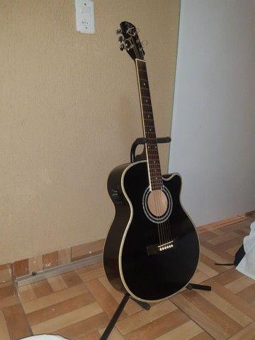 Vendo violão profissional PHX-188EQ  - Foto 2