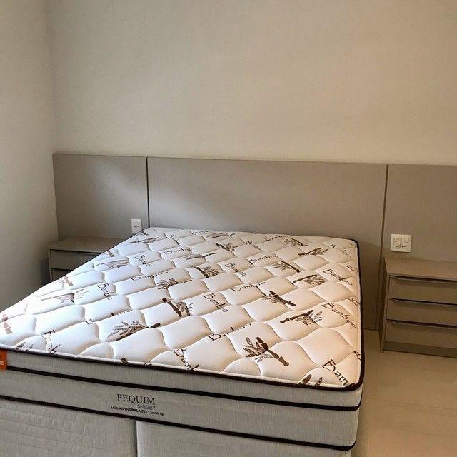 Apartamento mobiliado com 4 suítes na Meia Praia Itapema - SC. - Foto 17