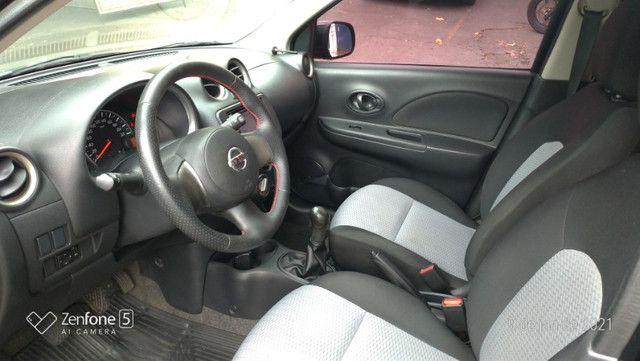 Nissan March 1.0 S Flex Revisado Kit Mult. Novo !! - Foto 11