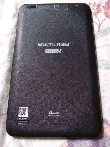 Vendo Tablet Multilaser M8 4g 32gb - Foto 5