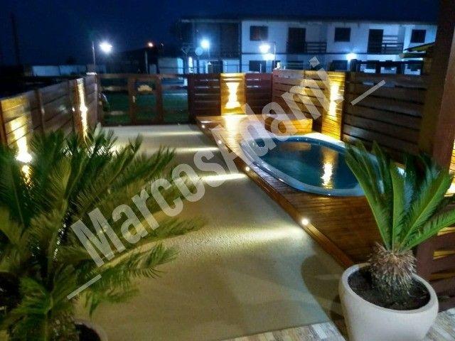 Alugo linda casa com piscina em em Arroio do Sal/RS - Foto 16