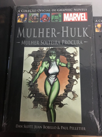 Graphic Novels Marvel Ed. 38 - Vol 35 - Mulher-Hulk - Mulher Solteira Procura