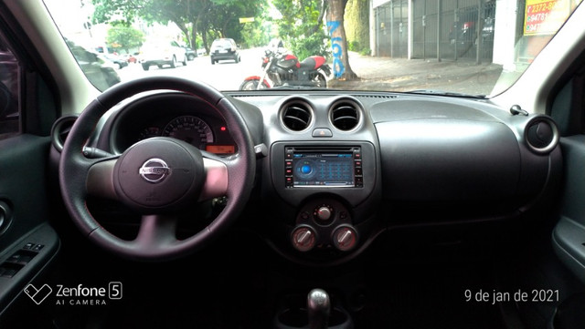 Nissan March 1.0 S Flex Revisado Kit Mult. Novo !! - Foto 9
