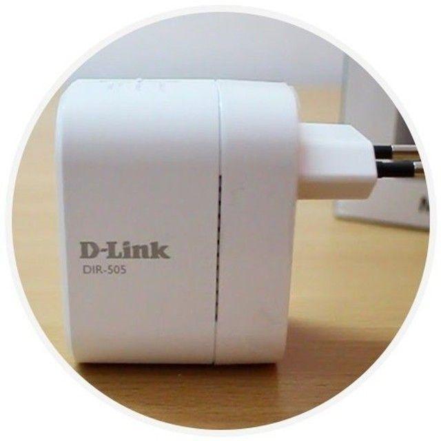 Roteador repetidor D-link DIR-505