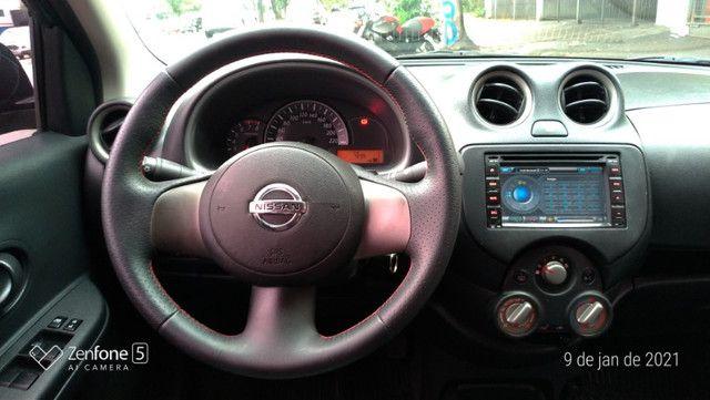 Nissan March 1.0 S Flex Revisado Kit Mult. Novo !! - Foto 10