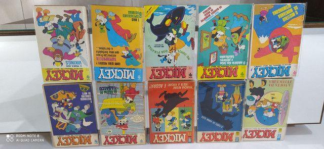 Gibis Mickey coleção editora abril 175 revistas em quadrinhos - Foto 3