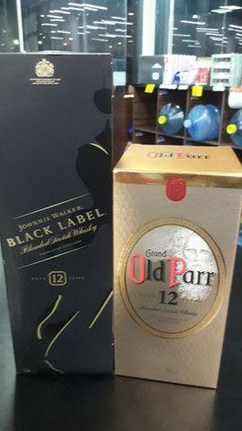 Combo BLACK LABEL 1LT 12 ANOS OLD PARR1LT  12LT  - Foto 2