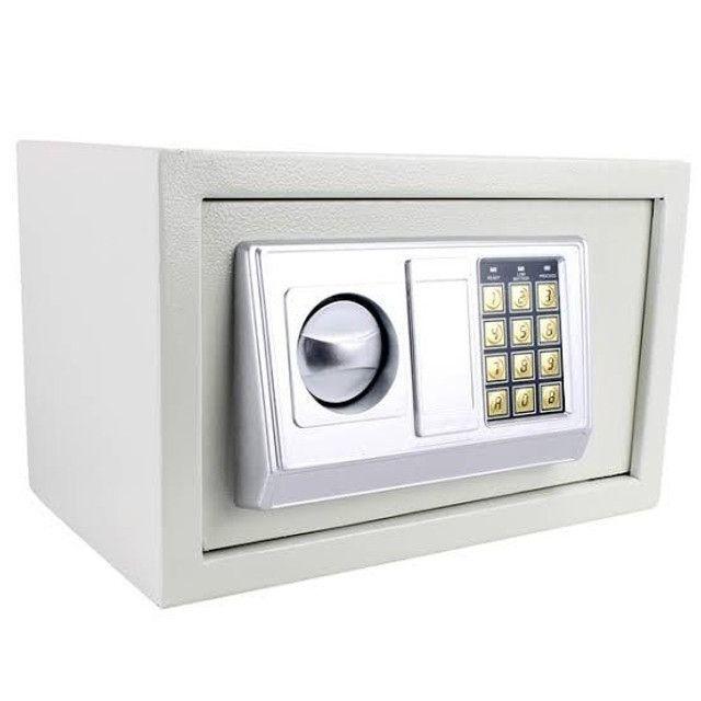NOVO* Cofre Eletrônico Digital Chaves e Senha 31cm X 20,5cm X 20cm - Foto 3