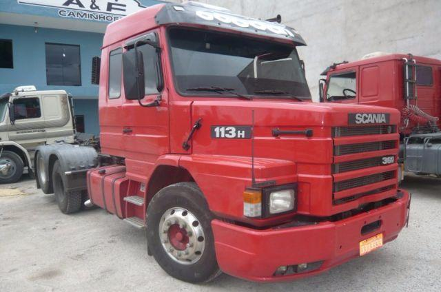 SCANIA T 113 360 1998 6X2 TOP LINE