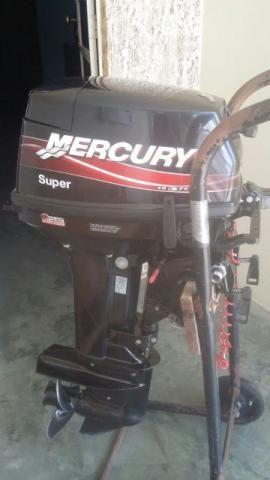 Motor Mercury 15 HP ano 2014
