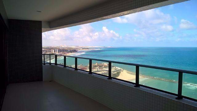 (5)Apartamento Beira Mar - Alto Padrão 280 m² - Areia Preta - 4 suítes com 4 vagas