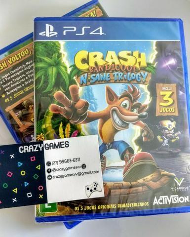 Crash Bandicoot N'Sane Trilog - PS4