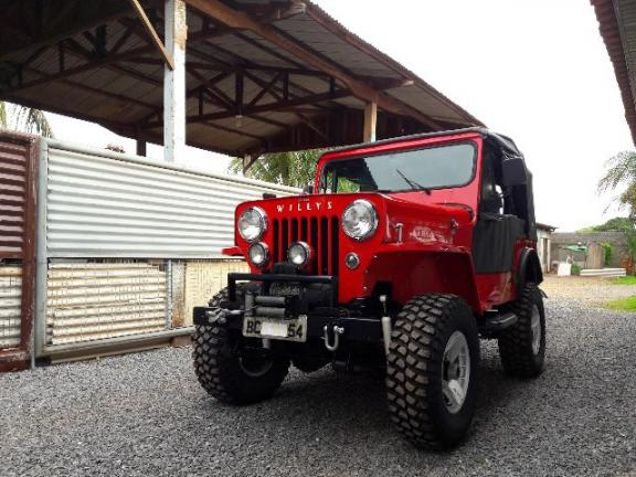 Ford Willys 1954 Impecável