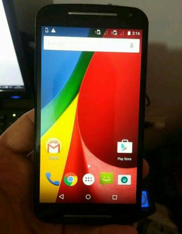 Moto g2 16GB C/TV DIGITAL R$ 300.00