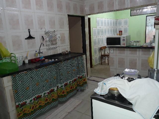 QNL 18 lote 180m² 3 quartos cerâmica forro PVC 210 mil quitada - Foto 4