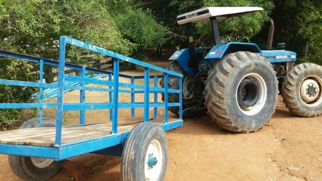 Trator agricola traçado NH/Ford 2005 - Foto 2