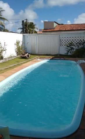 Casa com piscina a 100m da praia de guaibim - Foto 12