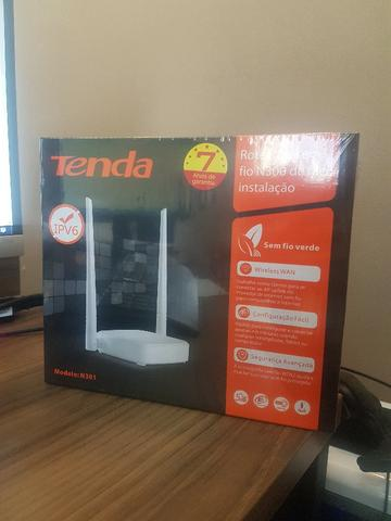 Roteador Wireless 300Mbps 802.11N 2 Antenas Tenda PN N301 - NOVO