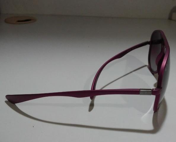 Óculos De Sol Importado Ray-Ban Aviator Liteforce RB4180 Roxo - Foto 3