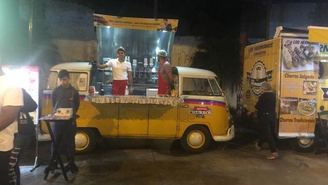 Vendo-se kombi food truck