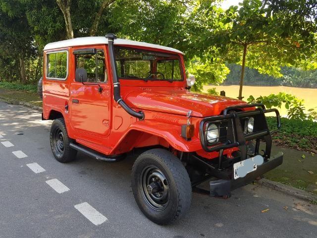 Toyota Bandeirante Jipe Curto