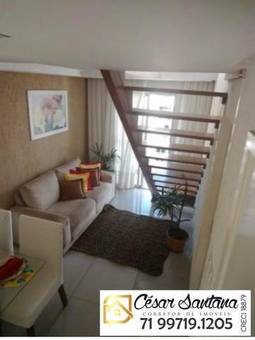 Cobertura 4/4 sendo 1 suite e terraço livre - Gran Ville das Artes - Lauro de Freiras - Foto 6