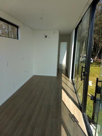 Casa container 30m2 com um quarto revestida em madeira em Chapeco - Foto 7