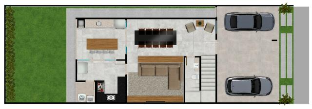 Sobrado em cond fechado 4 suites de alto padrão lazer completo ac financiamento - Foto 3