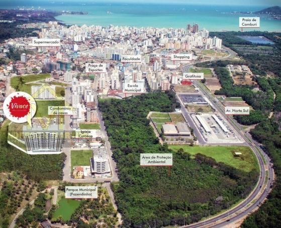 Apartamento à venda com 1 dormitórios em Jardim camburi, Vitória cod:8345 - Foto 13
