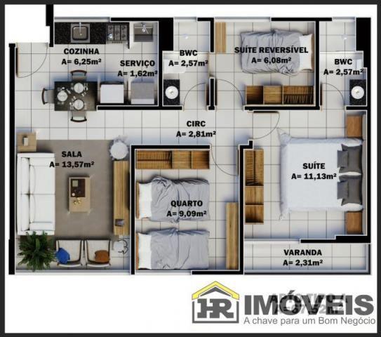 Apartamento para Venda em Teresina, PRIMAVERA, 3 dormitórios, 1 suíte, 2 banheiros, 1 vaga - Foto 12