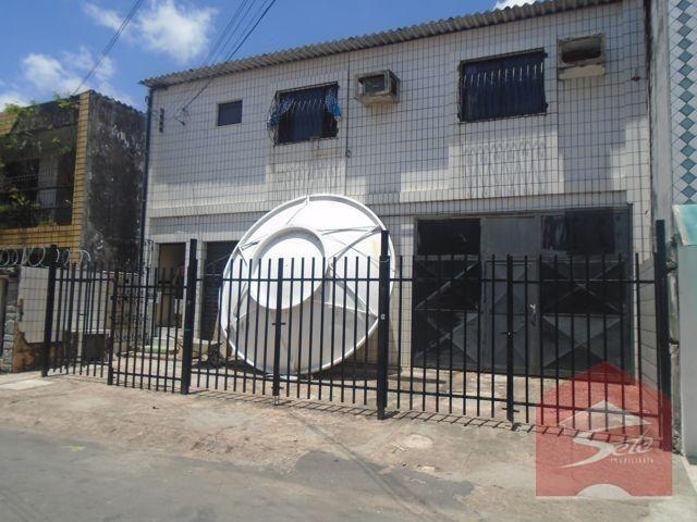 Prédio comercial 500m² a. const., 2 pisos, à venda, parquelândia