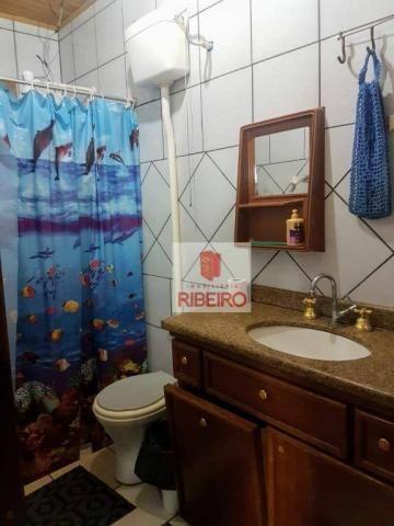 Casa com 3 dormitórios à venda, 103 m² por R$ 155.000, 350 metros do Mar - Zona Nova Norte - Foto 14