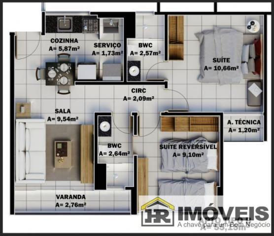 Apartamento para Venda em Teresina, PRIMAVERA, 3 dormitórios, 1 suíte, 2 banheiros, 1 vaga - Foto 14