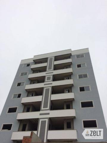 Apartamento com 3 dormitórios à venda, 91 m² por r$ 300.000 - sol - indaial/sc