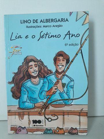 Livro Lia e o Sétimo Ano