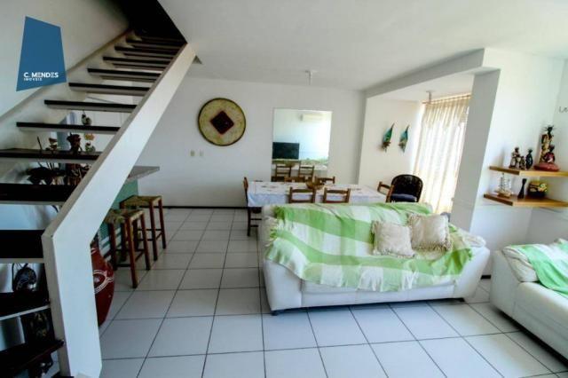 Apartamento Duplex com 5 dormitórios para alugar, 130 m² por R$ 4.500,00/mês - Mucuripe -  - Foto 9