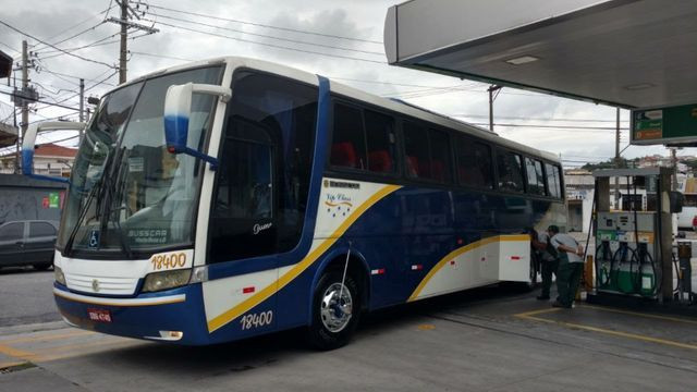 Ônibus Volkswagen 17.260 LO 4x2 - Busscar Vissta Buss HI 46 Passageiros
