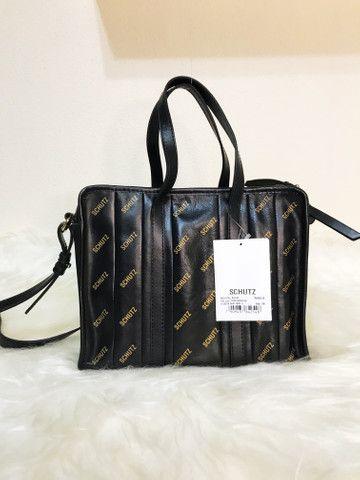 Bolsa Schutz de couro legítimo Original