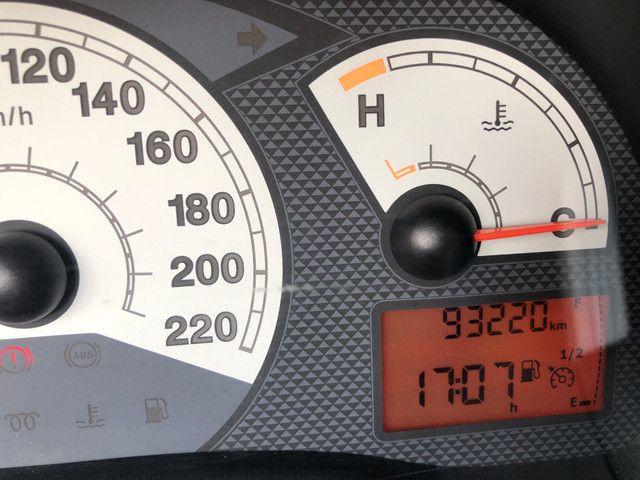 Fiat Palio Attractive Completo 1.0 Flex 4 Portas Prata 2007/08 - Foto 10